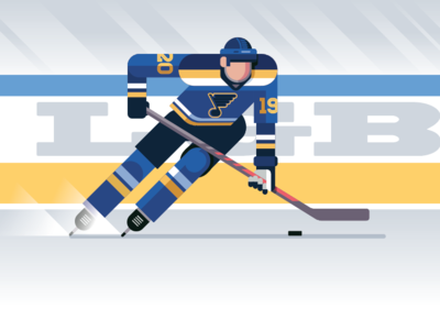 LGB! playoff hockey playoffs stl blues saint louis st louis 2019 person vector nhl stanley cup hockey blues