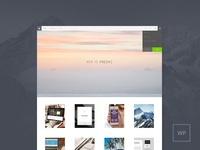AER - Clean & Light WordPress Theme