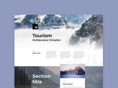 Tourism page