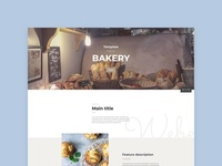 Bakery page
