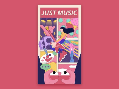 JUST MUSIC!