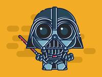 Tiny Darth Vader