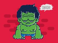 Tiny Hulk Smash