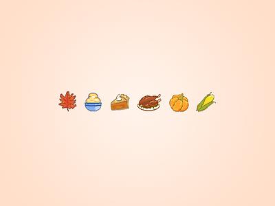Thanksgiving Bites warm turkey pixel art thanksgiving