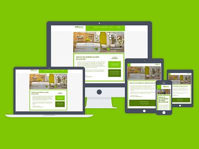 Screen Design & Front End Dev screen webdesign responsive