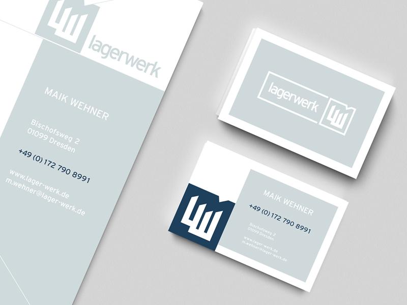 Lagerwerk CD corporate design logo