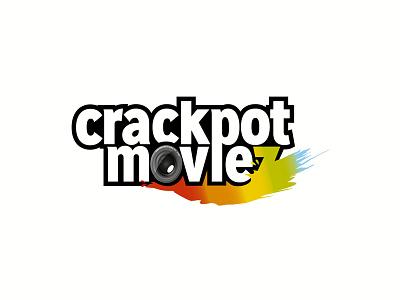 Crackpot Moviez Logo  logo grafikdesign grafic design