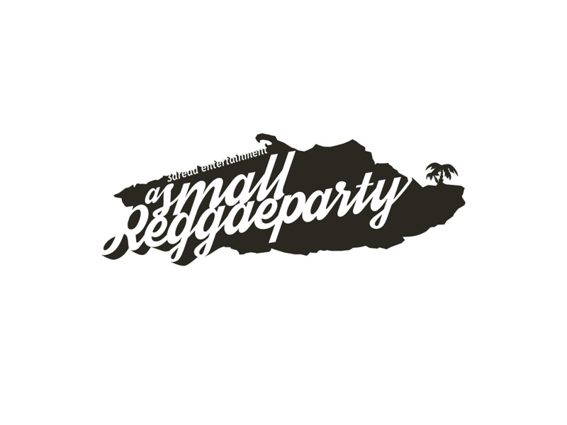 a small reggae party logo brand