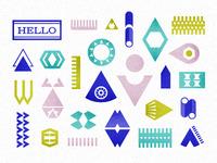 Palikoita - shapes
