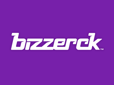 Bizzerck Logo Dribbble lettering custom logotype logo