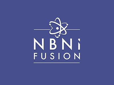 NBNi Fusion Logo Design futura identity logotype logo