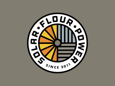 Solar Flour Power Badge