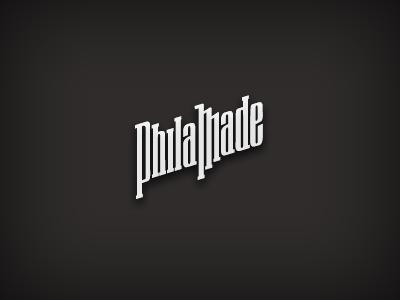 Made in Philadelphia philadelphia philamade logo type sketch work-in-progress feedback-please!