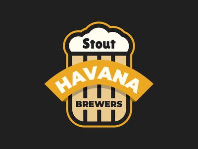 Beer Badges Logo Template