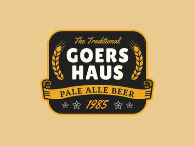 Goers Haus Beer