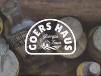 Goers Haus Beer Badge Template