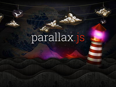 Parallax.js javascript css3 html5 animation illustration