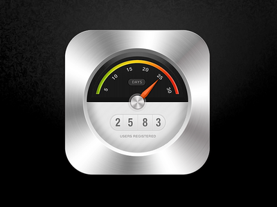 Fuel Meter iphone ios illustration sketch shot good icon design button app