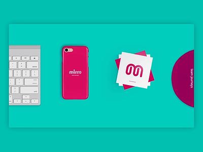 Mirro - Branding web app vector logo agency clean digital interactive ui ux animation branding