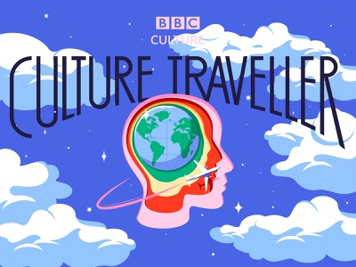 BBC Culture Traveller culture travel traveller bbc culture bbcculture ilustracion colors adobe editorial design digital illustrator illustration vector