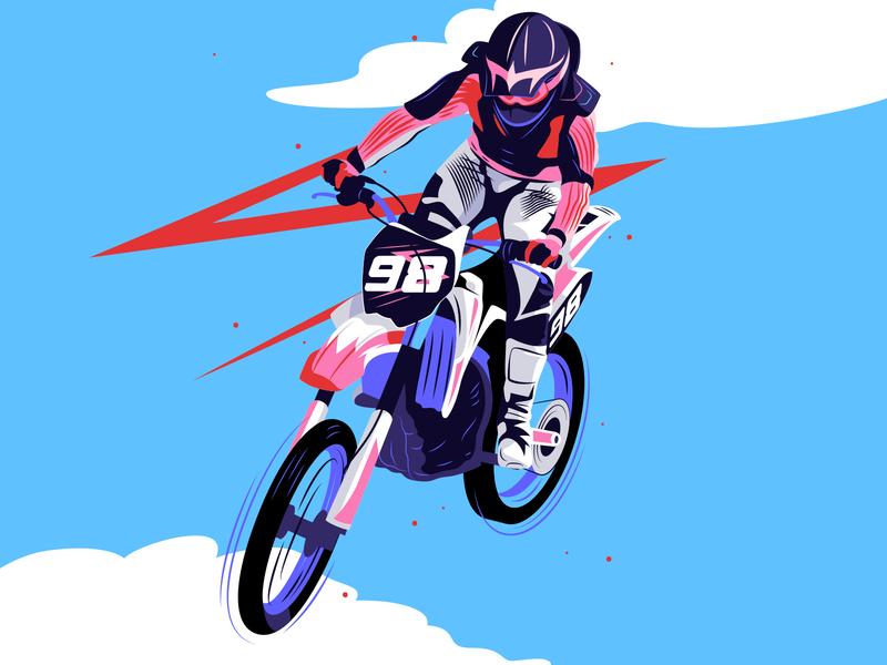 Girls on wheels texture art inspiration editorial artwork design digital illustrator illustration vector