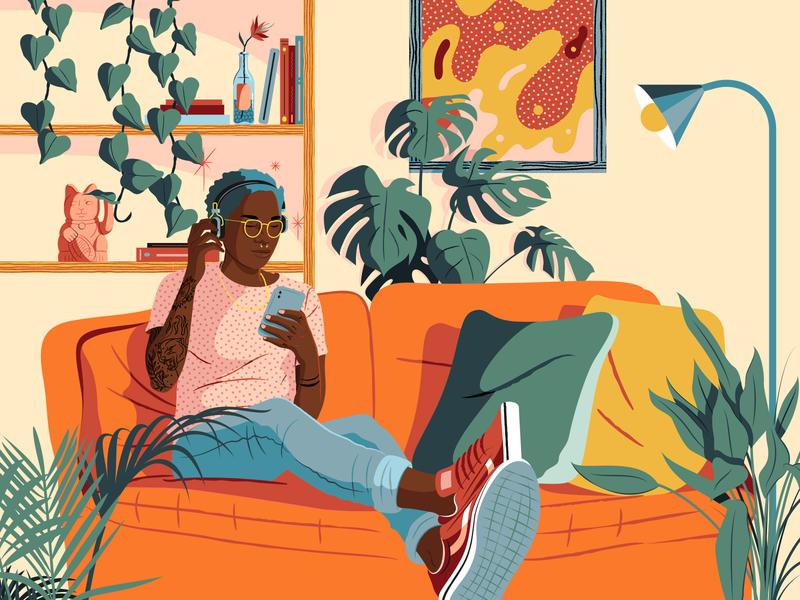 TEMPEST • Unwind after a hard  week adobe illustrator friday friyay unwind tempest adobe texture art inspiration editorial artwork design digital illustrator illustration vector