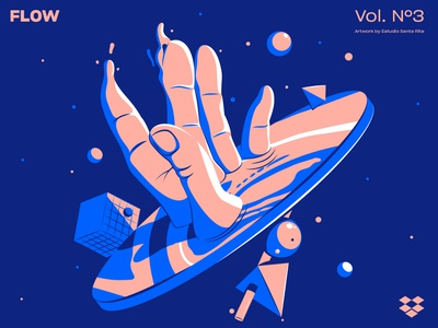 Flow's playlist for Dropbox estudiosantarita playlist surrealism surreal space dropbox ilustracion digitalart colors adobe usa art inspiration design artwork digital illustrator illustration vector