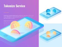 Tokenize Service Illustration