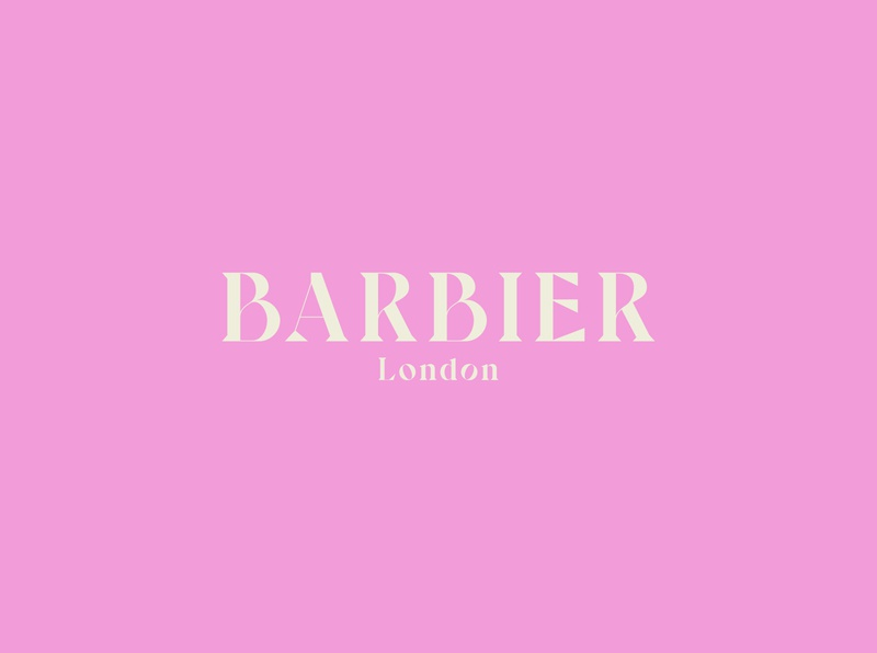 Barbier Logo styling salon barber london barber logo barbershop