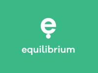 Equilibrium Logo app logo e logo green teal calm equilibrium