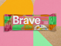 Sustainable Packaging Protein Bar modern young design protein bar supplements protein brave sustainable sustainable packaging