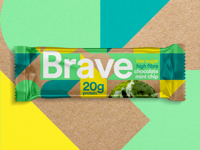 Sustainable Packaging Protein Bar supplements wrap packaging branding protein branding protein protein bar green young packaging brave sustainable sustainable packaging