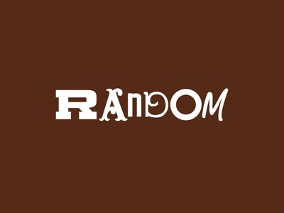 Random Logo mixed diverse logo amber brown hosehold cleaning product typeface random