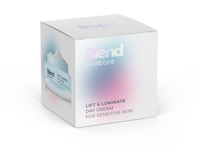 Blend Skincare blend packaging design