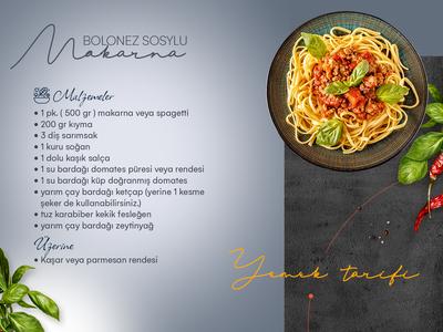 Recipe   bolognese sauce spaghetti