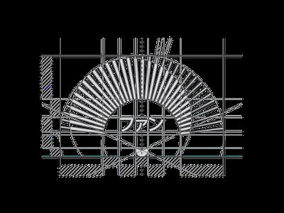 Japanese Fan Symbol Grid vectorart logoseeker graphicdesign visualidentity graphics behance modern logosai corporateidentity symbol logos logoinspiration vector flat design grid icon identity logo branding