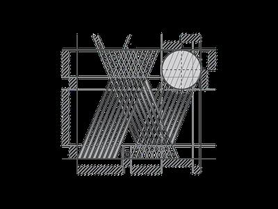 Newbounce Technology Symbol Grid icon vectorart symbol lines line dynamic flat corporateidentity branding logo design perfect gridding grid logoinspiration logos identity design logo mark letter