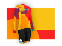 Cyclocross skinsuit