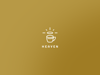Heaven cafe logo
