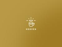 Heaven cafe logo