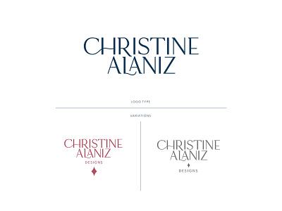 Christine Alaniz Designs | Jewelry Branding jewelry branding branding logotype logo