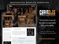 ChrisStylesDJ.com Redesign