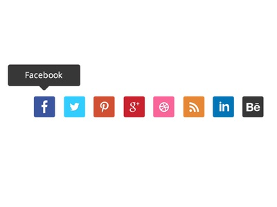 Social Media Free Flat Icons