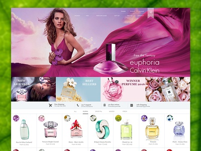 Perfume eCommerce Template