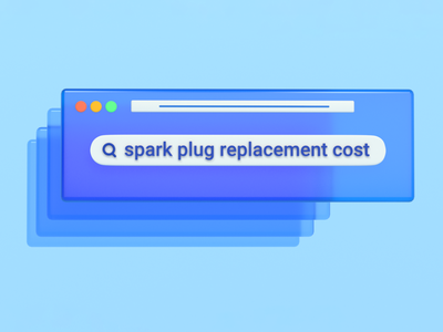 Common repair search terms product design interface mockup ui google explainer video quote estimate price cost replacement spark plug repairpal repair shop search terms cinema 4d 3d rendering 3d illustration