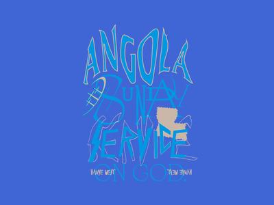 KANYE WEST Sunday Service Merch Mockup #2 typography art direction branding design kanye west kanyewest