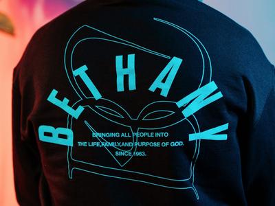 Bethany Hoodie 2020 Design graphic design art direction church design branding design merch design