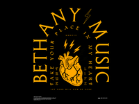 Bethany Music Merch concept