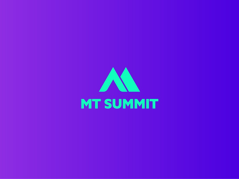 MT SUMMIT design minimalist logodesign logo graphicdesigner branding brand information technology meetings creative it tecnology