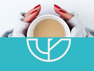 Coffee shop | Cântico café marca minimalist creative design graphicdesigner branding logodesign logos drink branddesign brand logo coffeeshop coffee